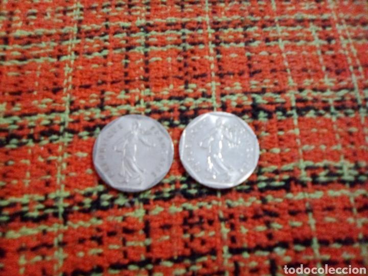 MONEDAS 2 FRANCS (Numismática - Extranjeras - Europa)