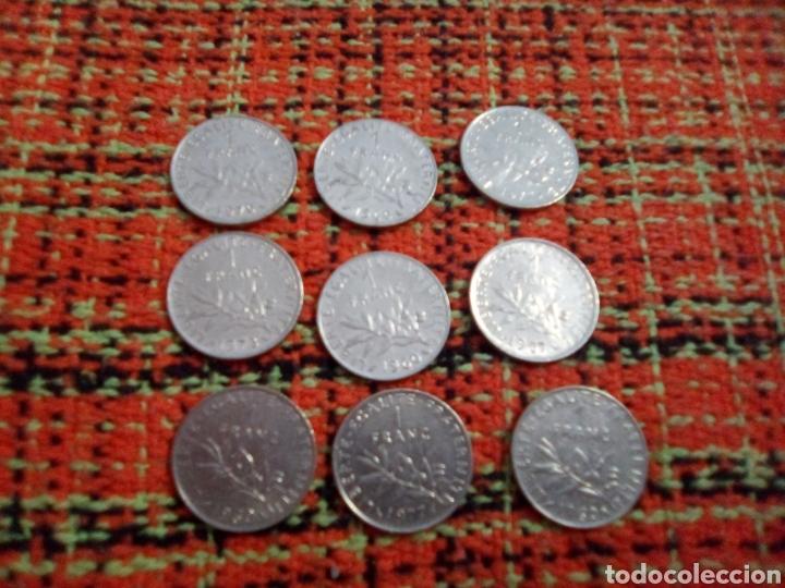 Monedas antiguas de Europa: Monedas 1 francs - Foto 2 - 180095378