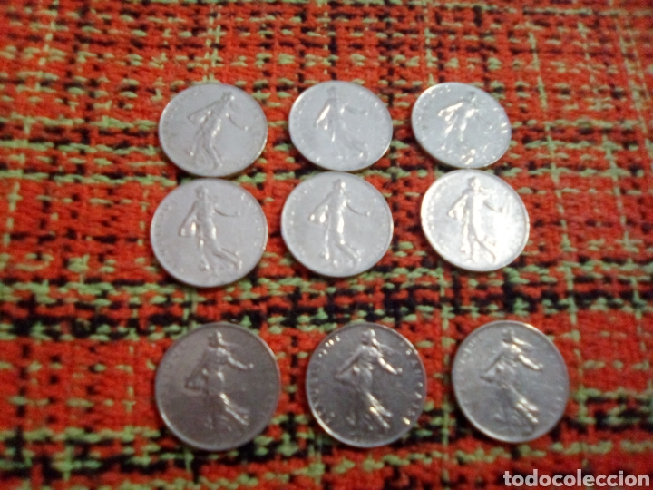 MONEDAS 1 FRANCS (Numismática - Extranjeras - Europa)