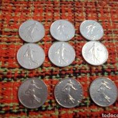 Monedas antiguas de Europa: MONEDAS 1 FRANCS. Lote 180095378
