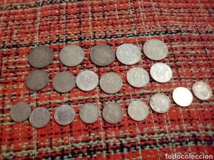 Monedas antiguas de Europa: Monedas cent francs - Foto 2 - 180098193