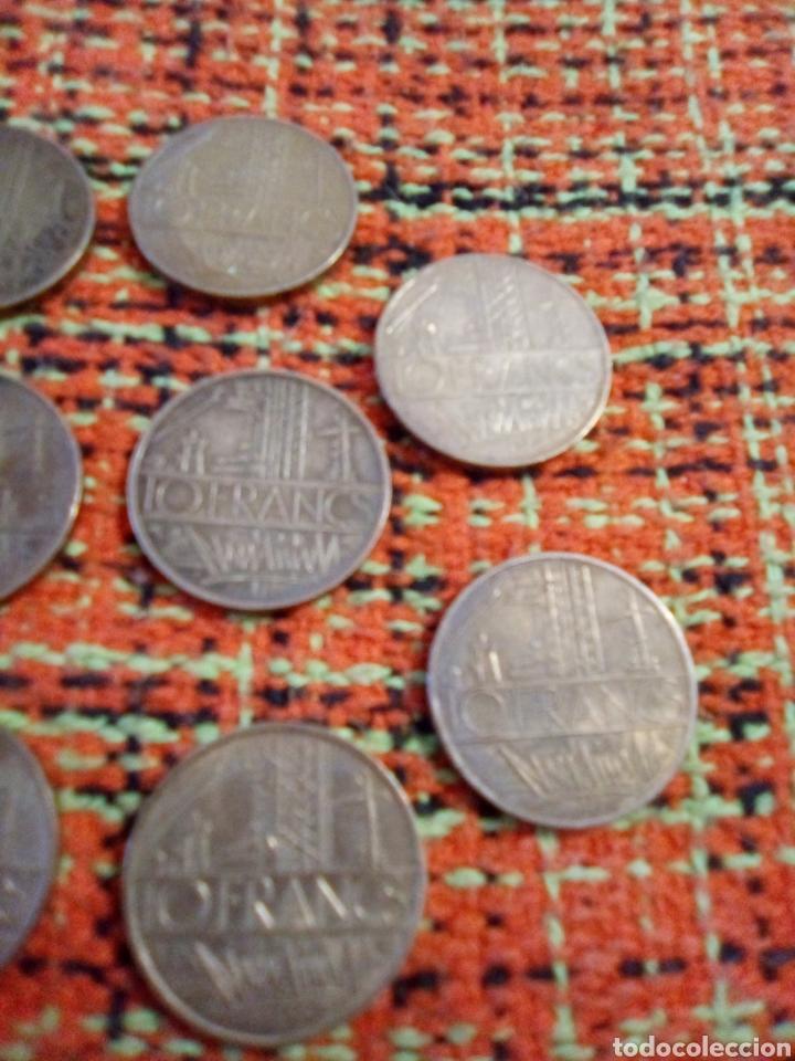Monedas antiguas de Europa: Monedas 10 francs - Foto 3 - 180098586