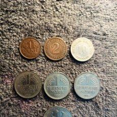 Monedas antiguas de Europa: ALEMANIA Y PAISES BAJOS LOTE DE 7 MONEDAS - VER DESCRIPCION. Lote 180226207