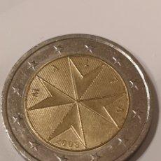 Monedas antiguas de Europa: 051. MONEDA DE 2 EUROS. MALTA. 2008. Lote 180424355