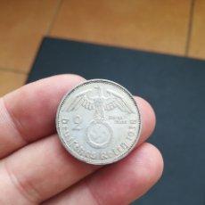 Monedas antiguas de Europa: MONEDA DE 2 MARCOS DEL AÑO 1938.(CECA F) ALEMANIA NAZI.DE PLATA.. Lote 180490850