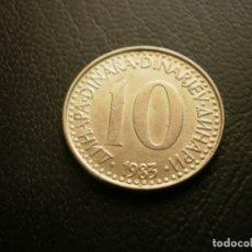 Monedas antiguas de Europa: YUGOSLAVIA 10 DINARA 1983. Lote 180893435