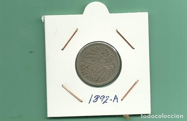 ALEMANIA IMPERIAL 10 PFENING 1892-A. CUPRONIQUEL (Numismática - Extranjeras - Europa)