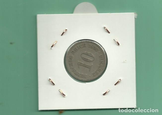 Monedas antiguas de Europa: ALEMANIA IMPERIAL 10 PFENING 1892-A. cuproniquel - Foto 2 - 181150217