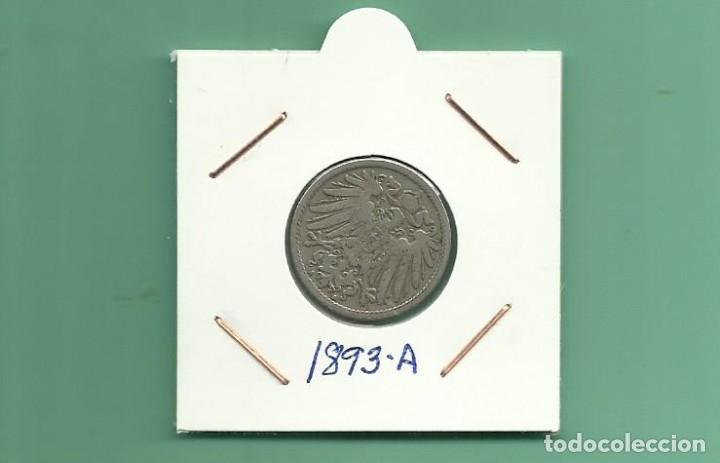 ALEMANIA IMPERIAL 10 PFENING 1893-A. CUPRONIQUEL (Numismática - Extranjeras - Europa)