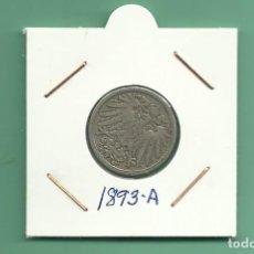 Monedas antiguas de Europa: ALEMANIA IMPERIAL 10 PFENING 1893-A. CUPRONIQUEL. Lote 181150592