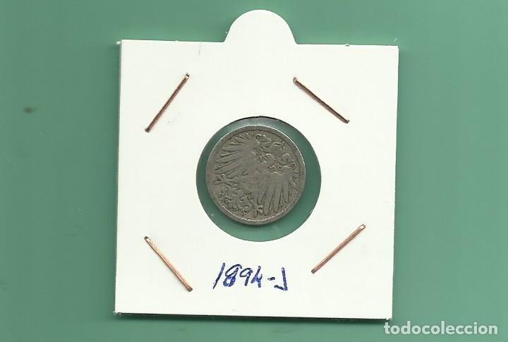 ALEMANIA IMPERIAL 5 PFENING 1894-J. CUPRONIQUEL (Numismática - Extranjeras - Europa)