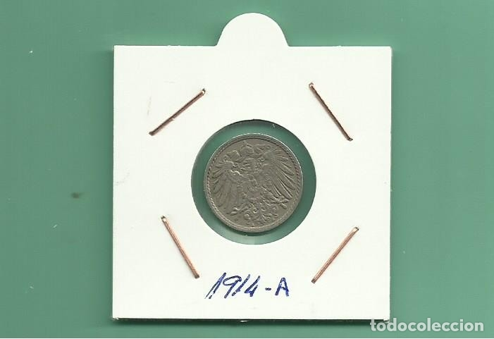 ALEMANIA IMPERIAL 5 PFENING 1914-A CUPRONIQUEL (Numismática - Extranjeras - Europa)