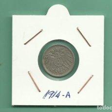Monedas antiguas de Europa: ALEMANIA IMPERIAL 5 PFENING 1914-A CUPRONIQUEL. Lote 181214265
