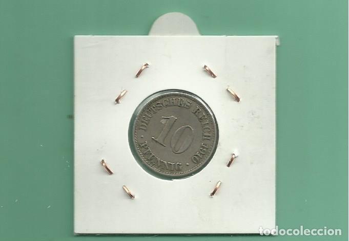 Monedas antiguas de Europa: ALEMANIA IMPERIAL 10 PFENING 1910-A. cuproniquel - Foto 2 - 181226453