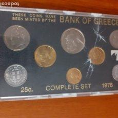 Monedas antiguas de Europa: MONEDAS DE GRECIA DE 1978. Lote 181695267