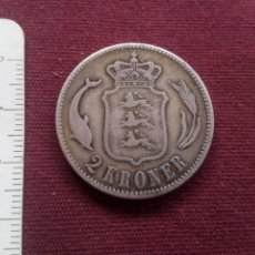 Monedas antiguas de Europa: 2 CORONAS 1875 PLATA DINAMARCA. Lote 181795216
