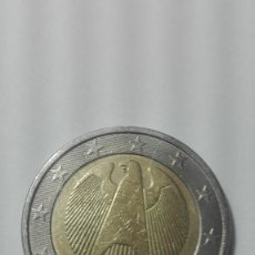 Monedas antiguas de Europa: MONEDA DE DOS EUROS DE ALEMANIA DEL AÑO 2002 CECA F. Lote 182081055