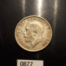 Monedas antiguas de Europa: GRAN BRETAÑA 1 CHELÍN 1915 PLATA. Lote 182112067