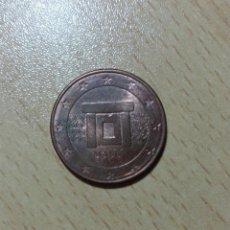 Monedas antiguas de Europa: MONEDA EURO - 5 CENTIMOS - 2008 - MALTA - ¿BUSCAS OTRO AÑO? . Lote 182427685