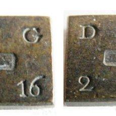 Monedas antiguas de Europa: GRAN BRETAÑA - 1/2 GUINEA - D.G. 2-16 - BRONCE - E.B.C++. Lote 182520121