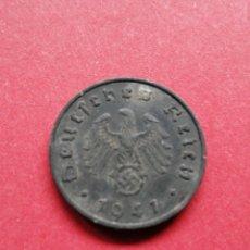 Monedas antiguas de Europa: MONEDA NAZI DE ALEMANIA DE 10 FÉNIGH 1941. Lote 182686496