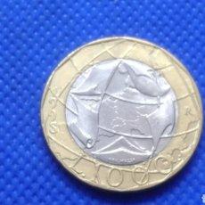 Monedas antiguas de Europa: ITALIA 1000 LIRAS 1998. Lote 182723168