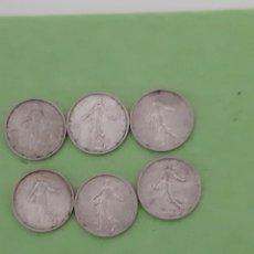 Monedas antiguas de Europa: LOTE 6 MONEDAS DE PLATA. Lote 182736862