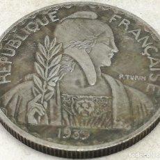 Monedas antiguas de Europa: RÉPLICA MONEDA 1929-1939. 10 FRANCOS. FRANCIA. RARA. Lote 183567261