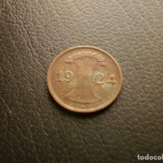 Monedas antiguas de Europa: ALEMANIA ( REP. DE WEIMAR ) 1 RENTENPFENNIG 1924 E. Lote 183585355