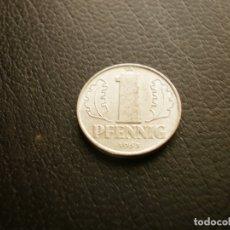 Monedas antiguas de Europa: ALEMANIA ( REP. DEMOCRATICA ) 1 PFENNIG 1963. Lote 183586293