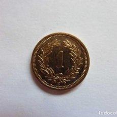 Monete antiche di Europa: SUIZA. 1 HELVETIA / RAPPEN AÑO 1921-B. Lote 183678492