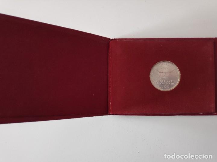 Monedas antiguas de Europa: Moneda de plata 500 liras Sede Vacante 1958 - Foto 4 - 183691795