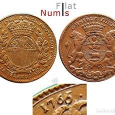 Monedas antiguas de Europa: JETON FRANCES - 1766 - LUIS XV - COBRE - E.B.C. - Nº 2104. Lote 183704771