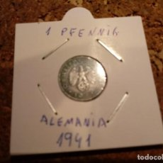 Monedas antiguas de Europa: MONEDA ALEMANA DE LA EPOCA NAZI 1 PFENNIG 1941. Lote 183834002