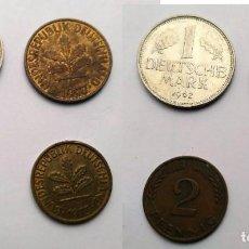 Monedas antiguas de Europa: ALEMANIA, 4 MONEDAS DE DIFERENTES VALORES. Lote 183876071