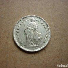 Monedas antiguas de Europa: SUIZA - 1/2 FRANCO 1961 PLATA. Lote 183879108