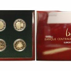 Monedas antiguas de Europa: LUXEMBURGO ESTUCHE OFICIAL 2 EUROS PROOF 2009/2012. Lote 184625545