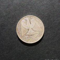 Monedas antiguas de Europa: ALEMANIA.- 10 DEUTSCHE MARK 1987 - BRELIN 750 JAHRE 1237-1987-(PLATA). EBC. Lote 184646665