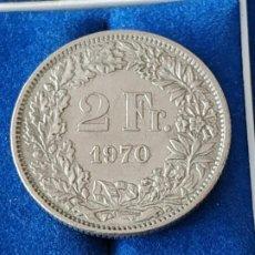 Monnaies anciennes de France: SUIZA - 2 FRANCOS DE 1970. Lote 184705921