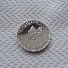 Monedas antiguas de Europa: 100 DINARES 1983 OLIMPIADAS DE SARAJEVO 84 PLATA.. Lote 184860065