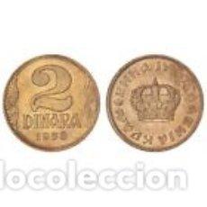 Monedas antiguas de Europa: YUGOSLAVIA 2 CORONAS 1938 VARIANTE CORONA PEQUEÑA. Lote 184868418