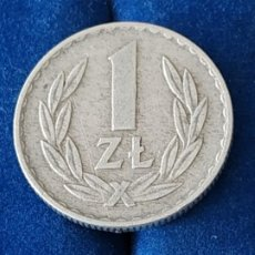 Monnaies anciennes de France: POLONIA - 1 ZLOTYCH DE 1969. Lote 184947643