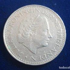 Monedas antiguas de Europa: MONEDA / 1 FLORIN - GULDEN 1968 HOLANDA. Lote 185721312