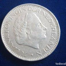 Monedas antiguas de Europa: MONEDA / 1 FLORIN - GULDEN 1968 HOLANDA. Lote 185721492
