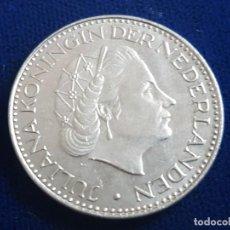Monedas antiguas de Europa: MONEDA / 1 FLORIN - GULDEN 1968 HOLANDA. Lote 185721567