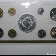 Monedas antiguas de Europa: SET 9 MONEDAS FRANCIA - 1978 - EN BLISTER CON ESTUCHE - FDC - (VER FOTOS PARA VALORES Y MATERIALES). Lote 185758773
