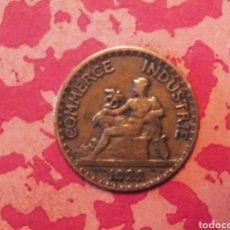 Monedas antiguas de Europa: 50 CÉNTIMOS 1922 REPÚBLICA FRANCESA. Lote 185900152