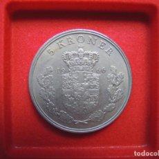 Monedas antiguas de Europa: 5 CORONAS, DINAMARCA, FREDERIK IX, 1966. Lote 185982405