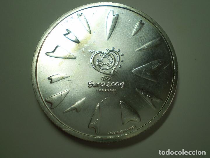 8 EUROS PLATA 2004 PORTUGAL. EUROCOPA FUTBOL 2004 - SCORE (EXCELENTE ESTADO) (Numismática - Extranjeras - Europa)