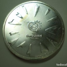 Monedas antiguas de Europa: 8 EUROS PLATA 2004 PORTUGAL. EUROCOPA FUTBOL 2004 - SCORE (EXCELENTE ESTADO). Lote 186027830
